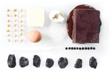 Ingredients for Chocolate Sin