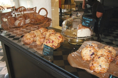 Organic Cherry Scones from Sam's Graces Cafe and Bakery