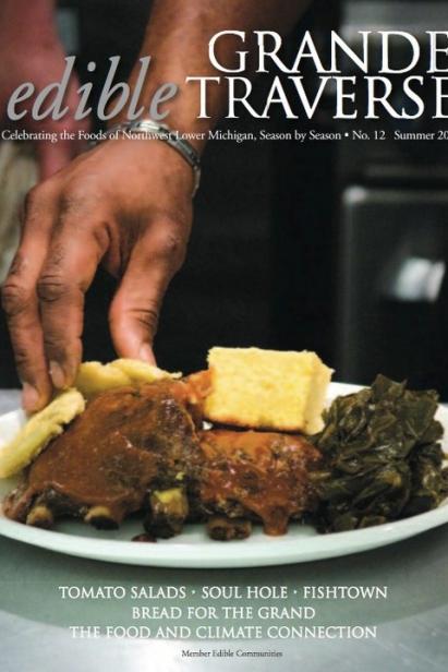 Edible Grande Traverse, Cover #12, Summer 2010 Issue