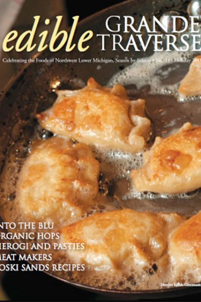 Edible Grande Traverse, Cover #14, Holiday 2010 Issue