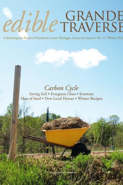 Edible Grande Traverse, Cover #15, Winter 2011 Issue
