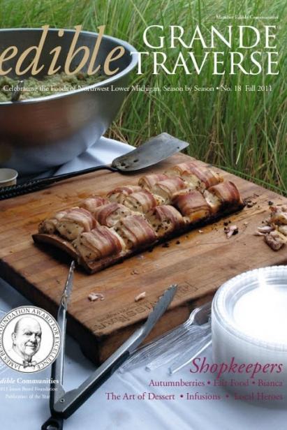 Edible Grande Traverse, Cover #18, Fall 2011 Issue
