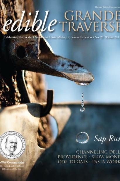 Edible Grande Traverse, Cover #20, Winter 2012 Issue