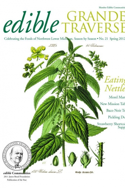 Edible Grande Traverse, Cover #21, Spring 2012 Issue