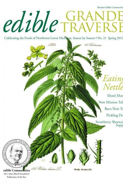 Edible Grande Traverse, Cover #21, Spring 2012 Issue