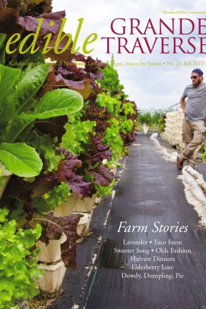 Edible Grande Traverse, Cover #23, Fall 2012 Issue