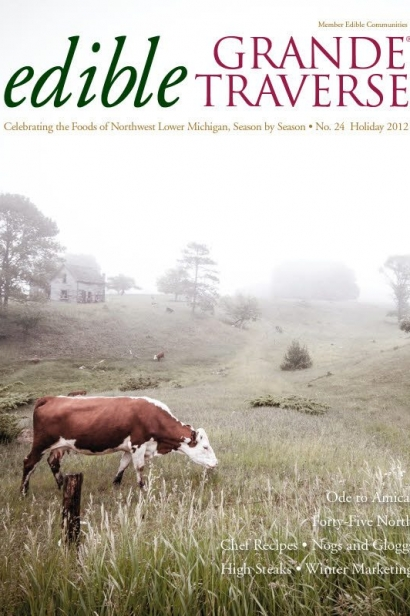 Edible Grande Traverse, Cover #24, Holiday 2012 Issue