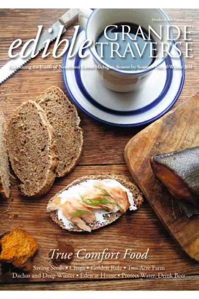 Edible Grande Traverse, Cover #31, Spring 2014 Issue