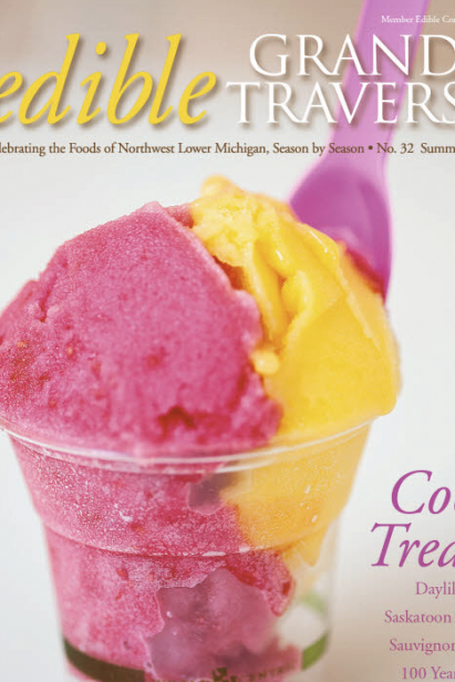Edible Grande Traverse, Cover #32, Summer 2014 Issue