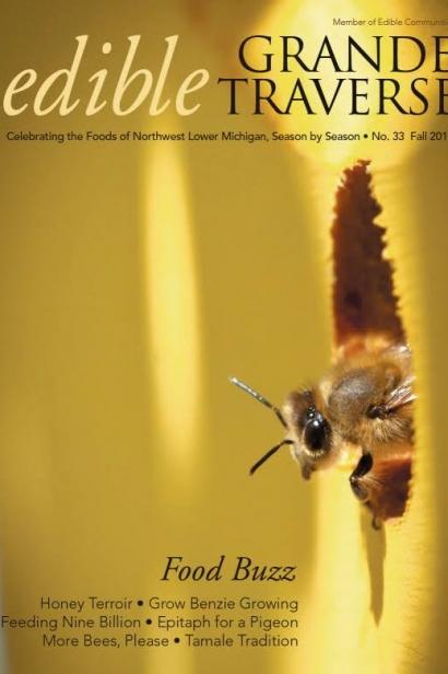 Edible Grande Traverse, Cover #33, Fall 2014 Issue
