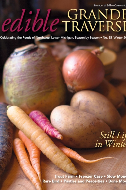 Edible Grande Traverse, Cover #35, Winter 2015 Issue