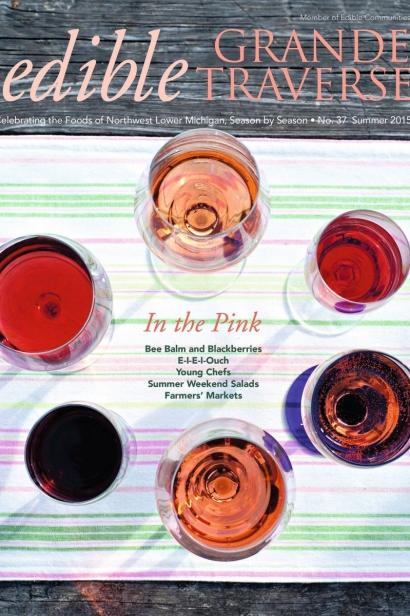 Edible Grande Traverse, Cover #37, Summer 2015 Issue
