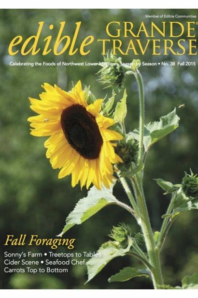 Edible Grande Traverse, Cover #38, Fall 2015 Issue