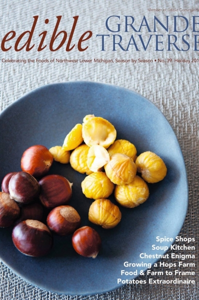 Edible Grande Traverse, Cover #39, Holiday 2015 Issue