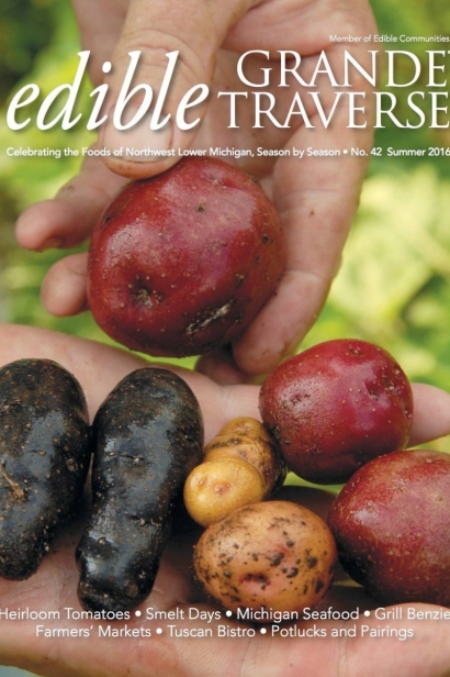 Edible Grande Traverse, Cover #42, Summer 2016 Issue