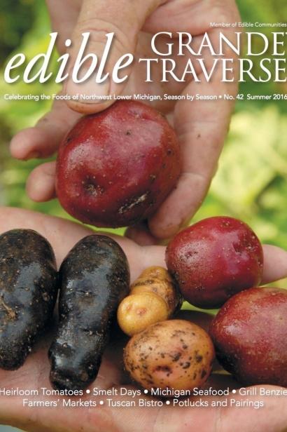 Edible Grande Traverse, Cover #42, Summer 2016 Issue