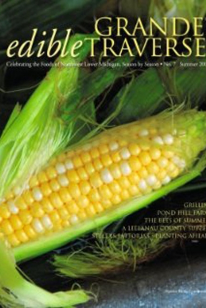 Edible Grande Traverse, Cover #7, Summer 2009 Issue