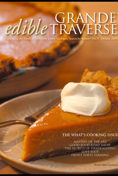 Edible Grande Traverse, Cover #9, Holiday 2009 Issue