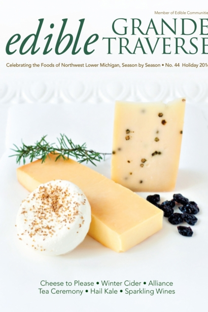 Edible Grande Traverse, Cover #44, Holiday 2016 Issue