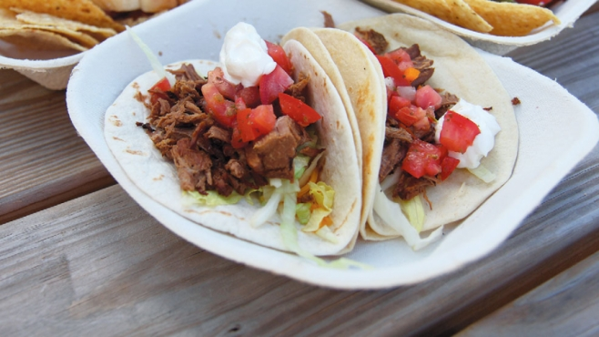 Tacos from Grill Benzie